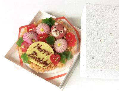 和菓子ケーキ5寸